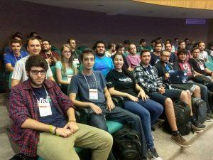 Alguns estudantes que participaram do ERAD