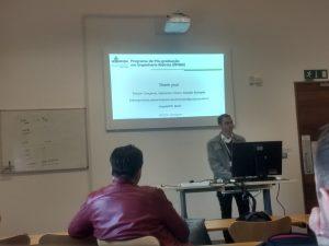 Apresentação de trabalho pelo Prof. Claudio Schepke