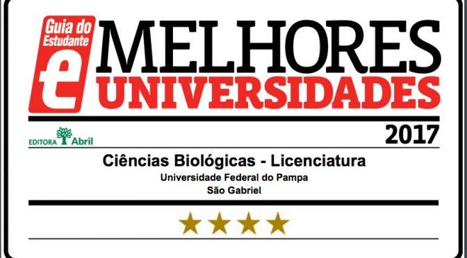 Curso de Ciências Biológicas – Licenciatura