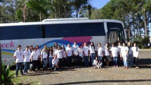 Estudantes e Professores da Rede de Educação básica de Dom Pedrito em Erechim/RS