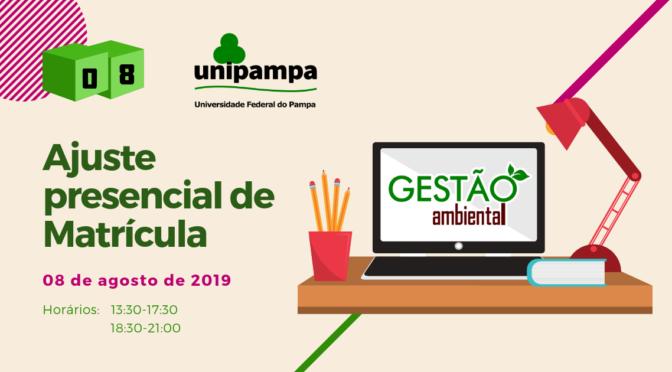 Matrícula Prensencial 2019